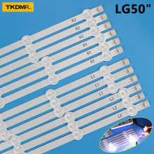 LED strip For LG 50 TV 50LN5100 50LN5130 50LA620V 6916L-1276A 6916L-1273A 6916L-1272A 6916L-1241A 50LN577S 50LA6208 50LA6205 1000mm led backlight lamp strip 10 leds for lg lg50ln5400 50la620v 6916l 1276a 1273a 1272a 1241a 50 inch lcd monitor