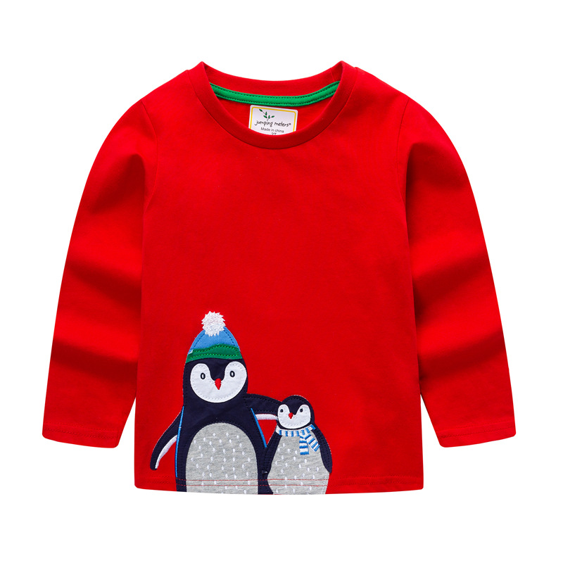 Childrenswear Small CHILDREN'S BOY'S Long-sleeved T-shirt 2019 Spring New Style Children's T-shirt Childrenswear Europe And Amer
