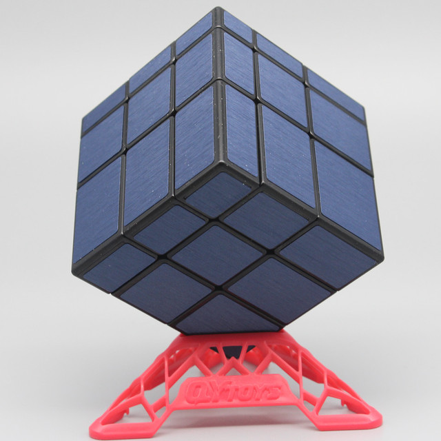 Qiyi Mirror Cube 3x3 Speed Cube 3x3x3 Magic Cube Puzzle Educational Toys For Children Cast Coated Mirror Blocks Gift 4
