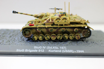 De Agostini 1/43 Scale StuG IV (sd.kfz.167) StuG Brigade 912 KURLAND(USSR) - 1944 Diecast Tank for collection michael kurland victorian villainy