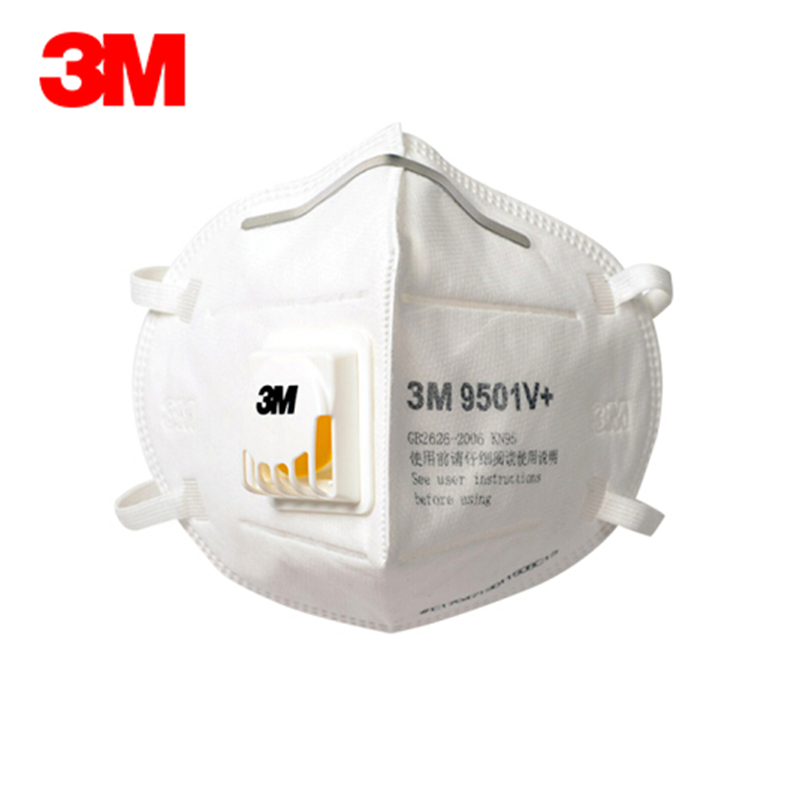 3M 9501V 9502V N95 Respirator Mask PM2.5 Ffp2 Mascherine Protective Mask Breathable 95% Close To Mascherina Ffp3 Dust Mask