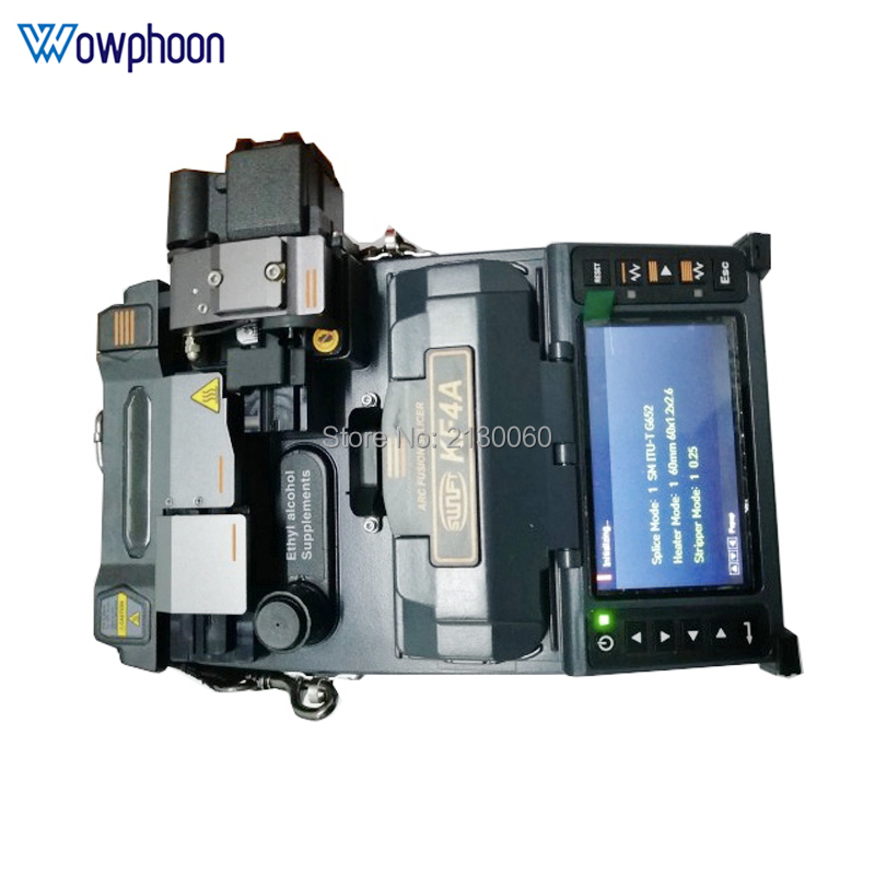 Original <font><b>Ilsintech</b></font> KF4A Fiber Optical Fusion Splicer Enlgish system for FTTH fusion splicing project with fiber tools image