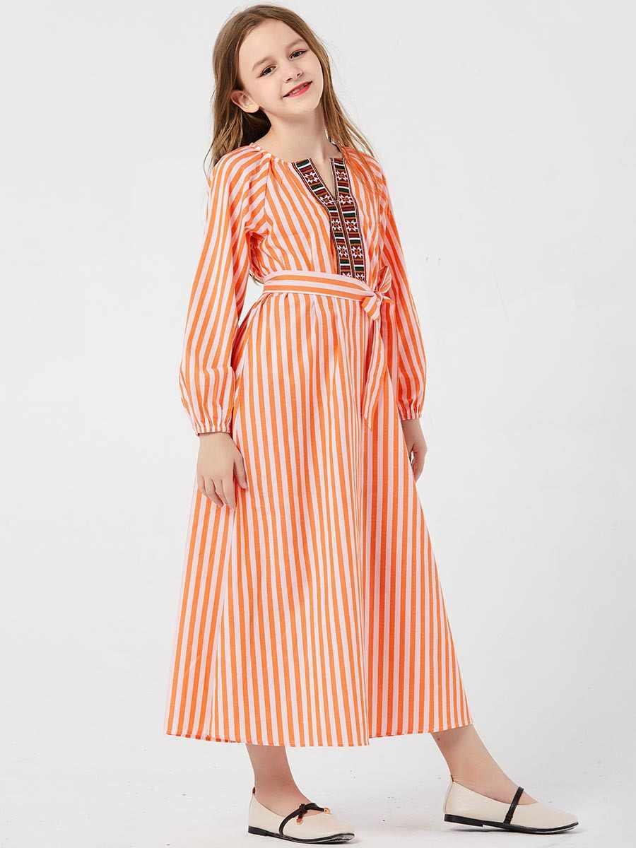 키즈 abaya 두바이 터키 방글라데시 caftan 이슬람 드레스 소녀 셔츠 맥시 드레스 kaftan 터키 이슬람 의류 2020 vestidos