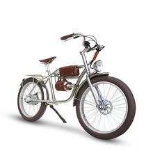 Rower elektryczny 1000W max 40 km/h gruby rower plaża Retro rower Cruiser rower elektryczny Retro rower elektryczny klasyczny Vintage ebike