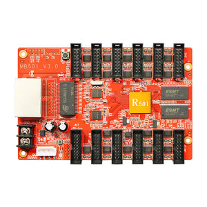 Image 5 - Huidu HD R501 asynchronous full color led receiving card led controller work with HD D30 for Outdoor advertising led