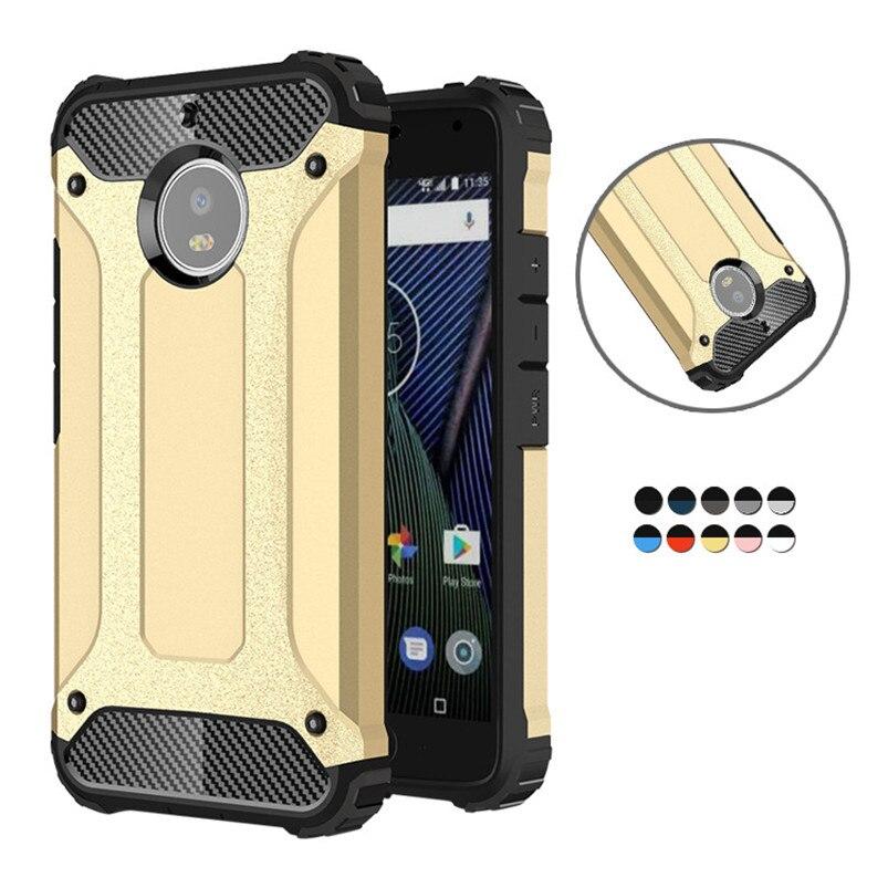 Armor Hybrid Hard PC Cover For Motorola Moto One G5S G5 G6 G4 Plus G7 Power Z Z4 E5 Play Go Shockproof Case For Moto G6 Play
