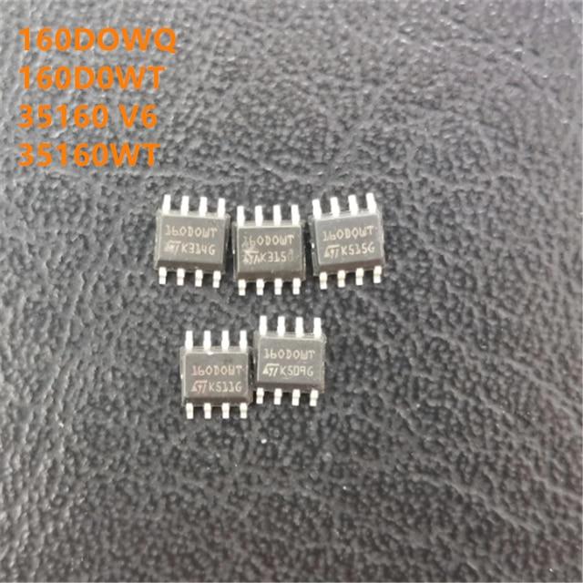 10pcs/lot M35160 160DOWQ 160DOWT 35160 V6 35160WT SOP8 EEPROM IC Chip for Dashboard BMW Mileage Correction 35160 SOP8 IC Chip