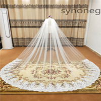 New Cathedral Length Bridal Cape Cloak Lace Long Wedding Dress Accessory in White Ivory