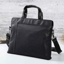 2019 new mens handbag fashion business computer bag shoulder slung briefcase Korean