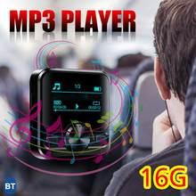 Bluetooth Sport Mini MP3 Muziekspeler 8 Gb Muziek Hifi Stereo 1.2 Inch Lcd-scherm MP3 Speler Hifi Waterdichte MP3 Walkman
