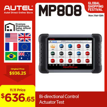 Autel MaxiPRO MP808 Diagnostic Tool Auto Diagnosis Automotive Scanner Upgraded from DS808 Better than MK808 All System Scanner - DISCOUNT ITEM  26% OFF All Category