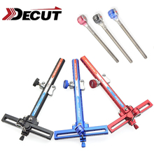 DECUT 1 Set Bow Sight Stand for Recurve Aluminum Alloy Material Basha Accessory 3 Colors For Shooting