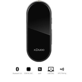 XDUOO XQ-25 XQ25  Mini Portable Bluetooth 5.0  Headphone Amplifier ES9118 DAC Support APTX SBC AAC NFC Pairing
