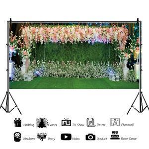 Image 3 - Yeele Свадебная церемония, вечеринка, занавес, цветы, портрет, Индивидуальные фотографии, фоны для фотостудии