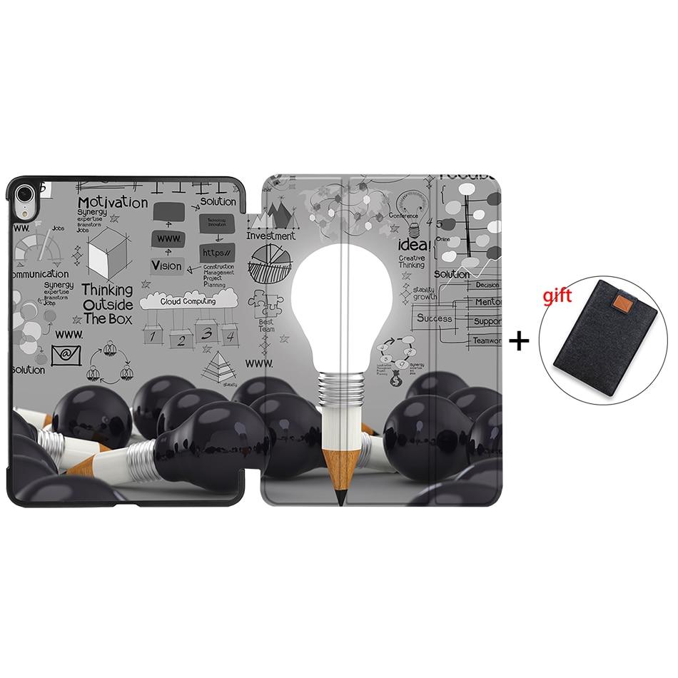 IP07 Yellow MTT Tablet Case For iPad Air 4th Generation 10 9 inch 2020 PU Leather Folio Flip