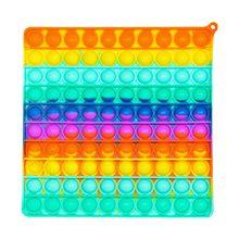 Lustige Pops Zappeln Push Es Blase Stress Relief Antistress Stressabbau Spielzeug Für Erwachsene Kinder Entlasten Autismus Sensorische Spielzeug