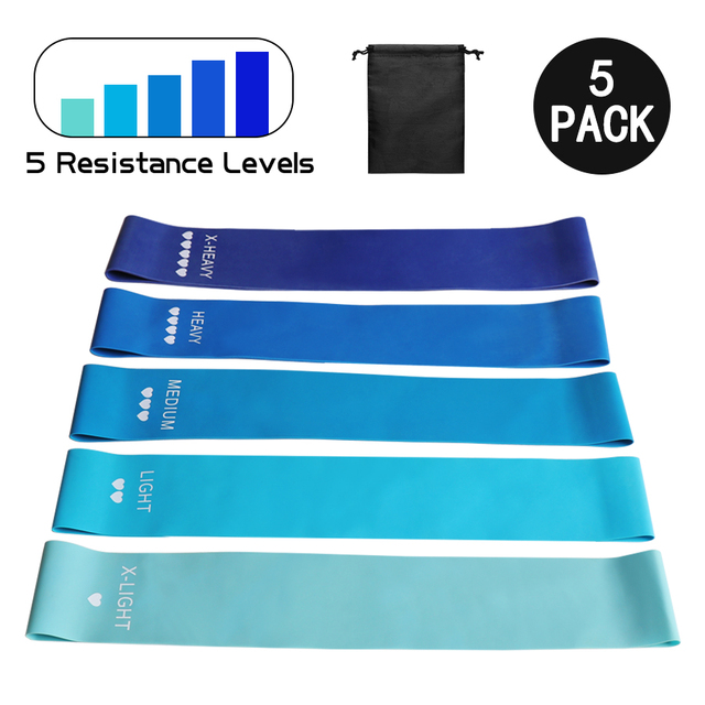 Yoga Resistance Exercise Bands Strength Training Fitness Gum Body Workout Pilates Rubber Pull Expander Loop Fitness Equipment 1