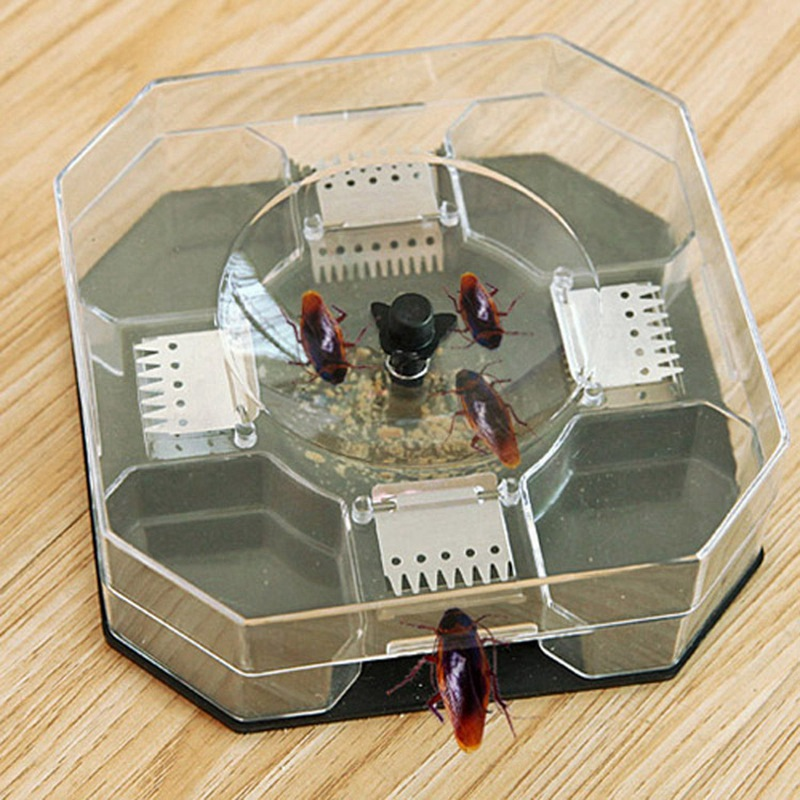 Cockroach Trap House Safe Cockroaches Killer Repeller Great For Home Office Kitchen