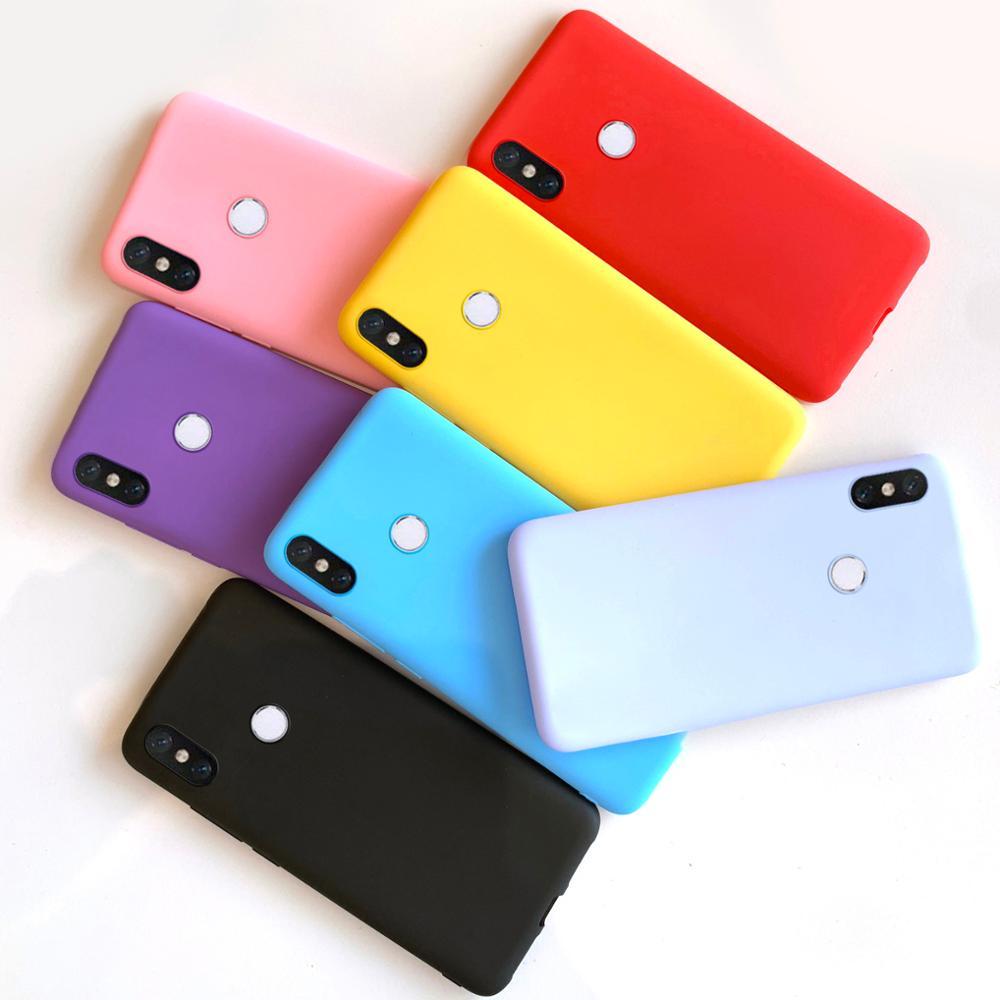 For Xiaomi Mi A2 Case Cover For Xiaomi Mi A2 Lite Case Soft TPU Silicone Phone Case On Xiaomi MiA2 MiA Mi A 2 Lite Bumper Cases