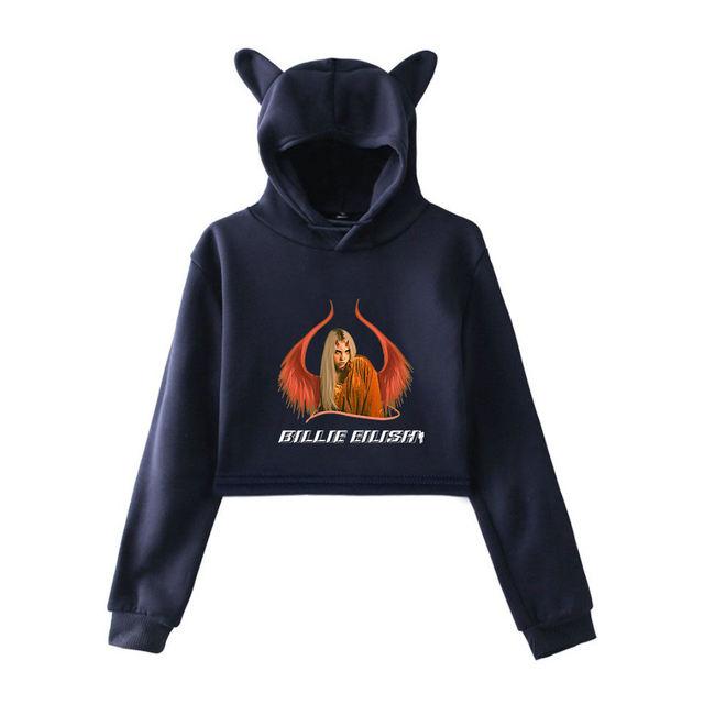 BILLIE EILISH EAR HOODIE (32 VARIAN)