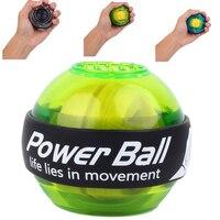 Мощный кистевой Массажный мяч ручной гироскоп со светодиодом Мяч Тренажер рука тренажер