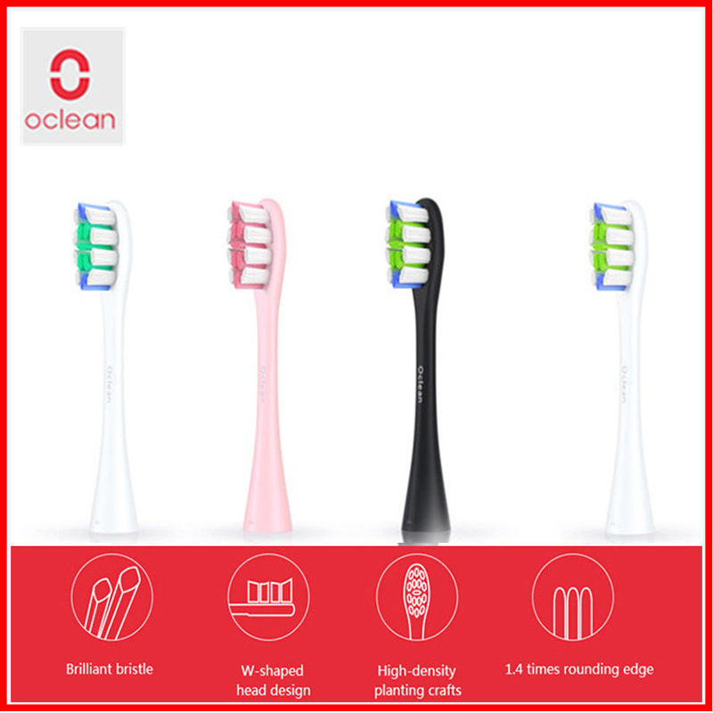 Original Oclean SE One 2pcs Replacement Brush Head For Automatic Electric Sonic Toothbrush Deep Cleaning Tooth Brush Head