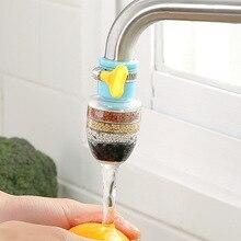 Кухня кран 5 слоев очистителя воды фильтр очиститель воды в домашних условиях фильтрация активированного мини очиститель кран углерода