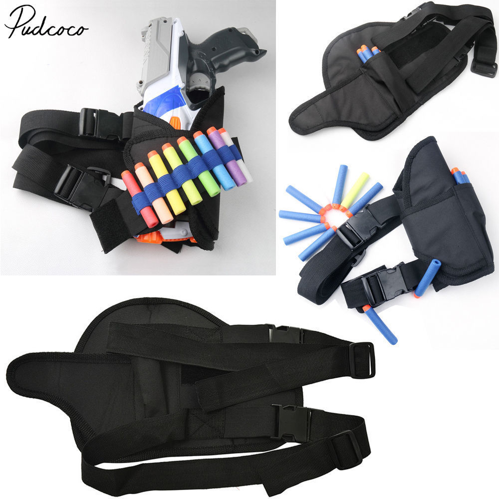 Pudcoco Cool Universal Tactical Waist Pouch Holster For Nerf Gun Blaster Kids Games Toy