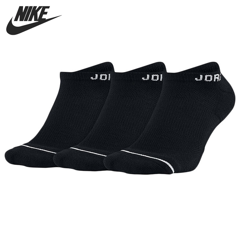 Original New Arrival  NIKE NO-SHOW 3PPK Men's  Sports Socks