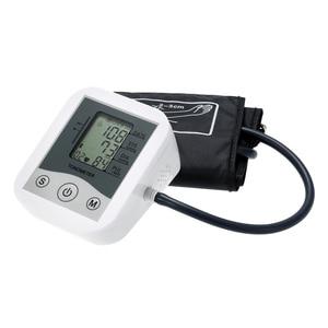 Tonometer Blood Pressure Monitor Portable Household Sphygmomanometer Arm Band Type Electronic Mini Blood Pressure Meter(China)