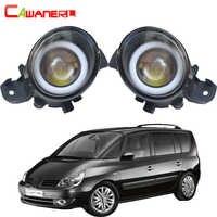 Cawanerl pour Renault Espace 4/IV (JK0/1 _) MPV 2003-2012 voiture LED ampoule antibrouillard ange Eye diurne lumière DRL 12V 2 pièces
