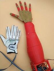 DIY руки робота Bionic манипулятор робот рулевой механизм контроллер паровые наборы 3d принтер для Inmoov Ardui