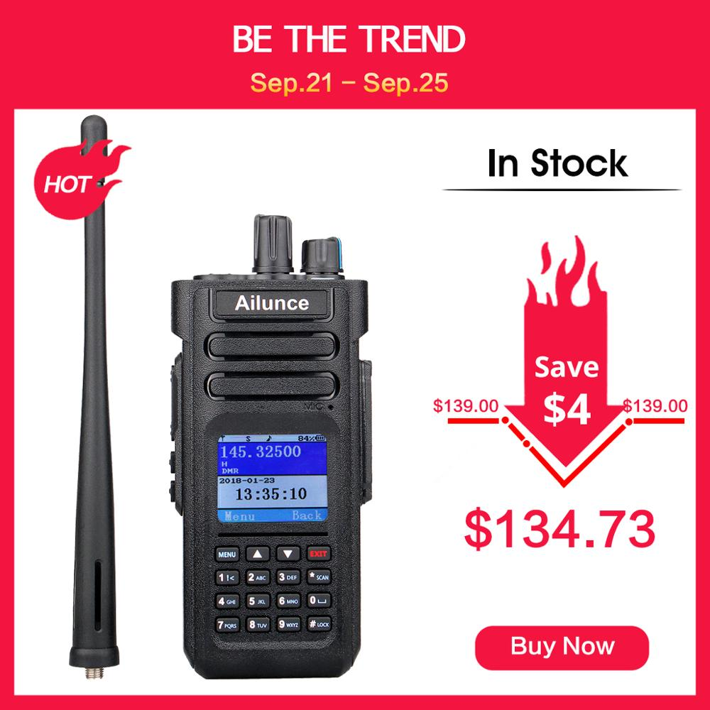 RETEVIS Walkie-Talkie Radio-Communicator Ham-Radio Dmr-Vhf UHF Dual-Band Two-Way Amateur