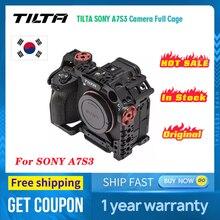 TILTA כרכרה מצלמה Sony A7sIII כלוב מלא חצי כלוב בסיסי קל משקל מקצועי מצלמה כלוב עבור SONY A7S3 A7s III tiltaing