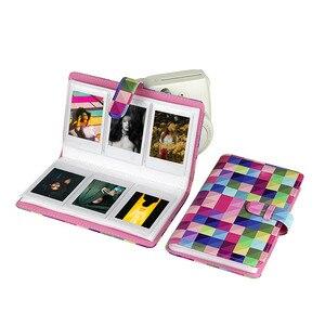 Image 5 - Gosear Модная книга из искусственной кожи для фотоальбома для Fujifilm Instax Mini 8 9 7S 7C 25 70 90 3 дюймовые бумажные мини пленки 96 карманов