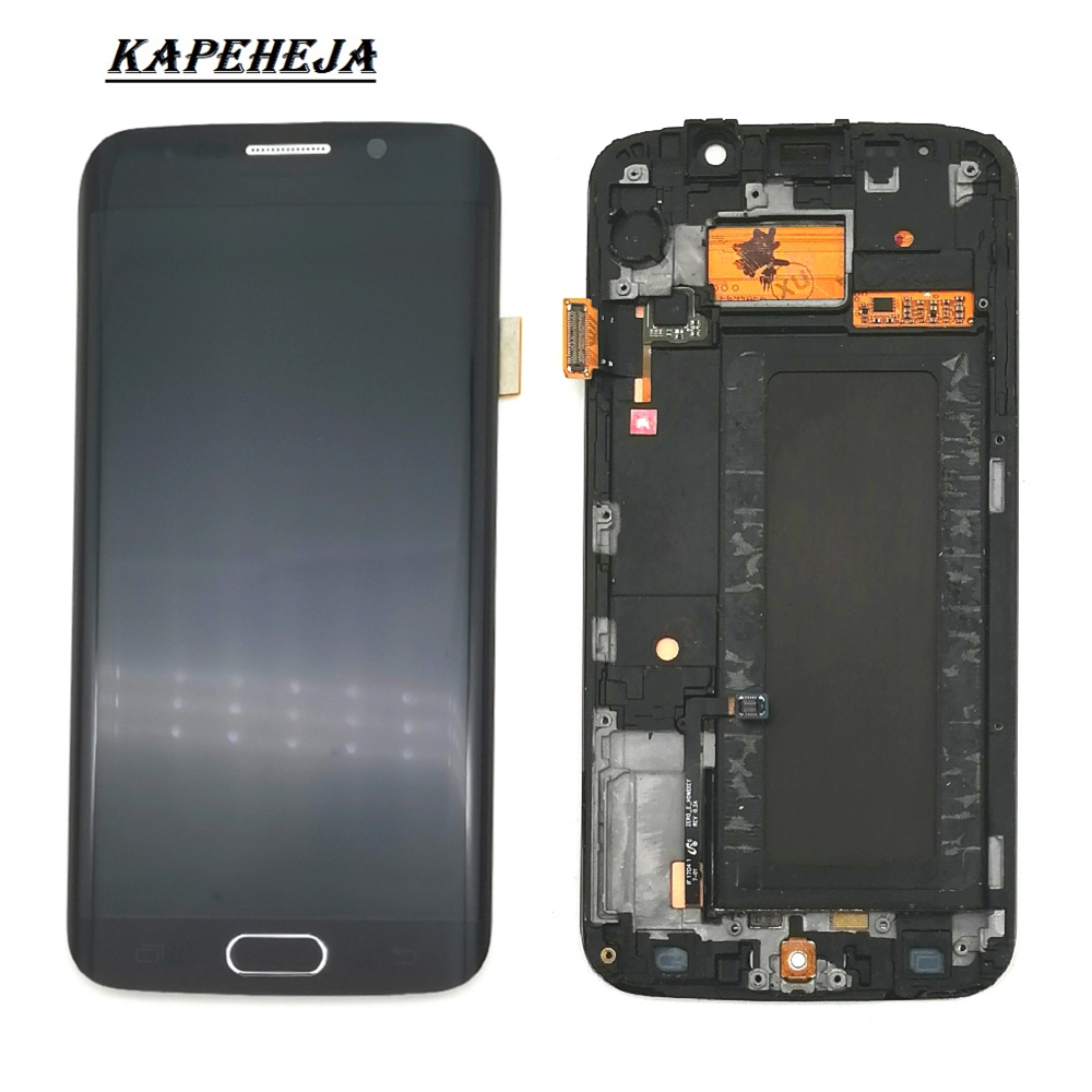 Super AMOLED LCD Display For Samsung Galaxy S6 Edge G925 G925I G925F LCD Display Touch Screen Digitizer Assembly image