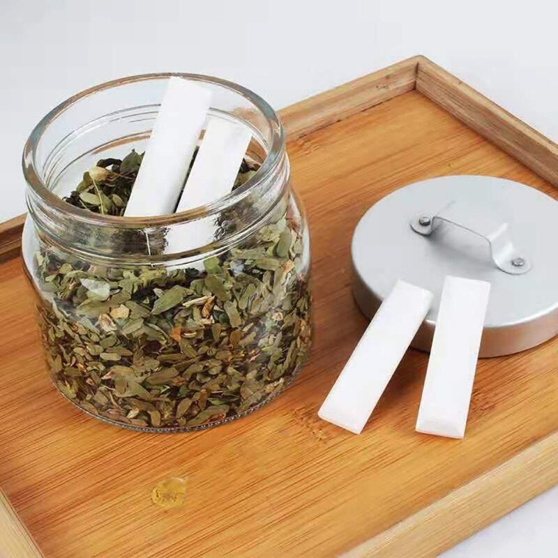 2PCS Diatomite Moisture Absorbent For Indoor Household Refrigerator Moisture Absorbent