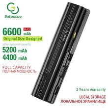 Golooloo 6 cells laptop battery for Hp HSTNN-C51C C53C CB72