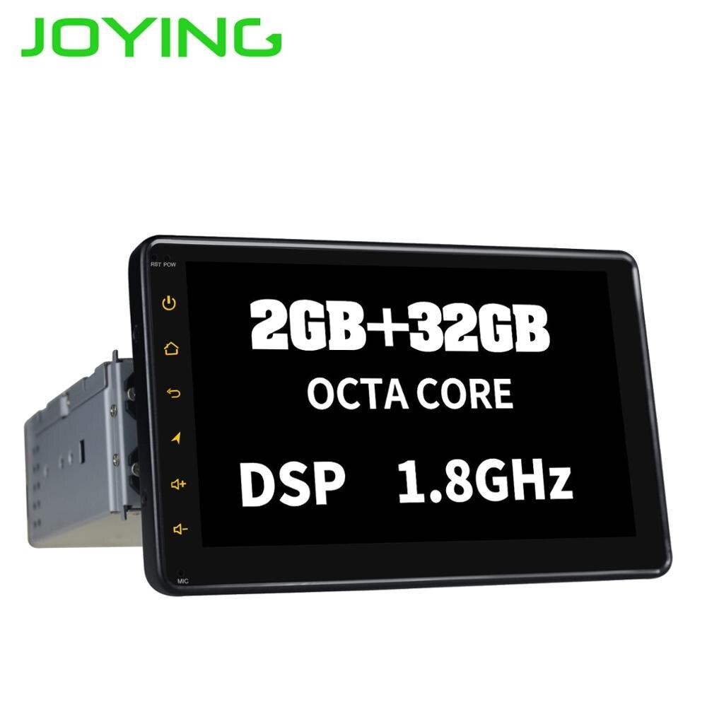 JOYING 1 DIN 7'' Touch Screen Android 8.1 Car Radio Head Unit Stereo Gps Navi Tape Recorder 32GB ROM Octa Core Multimedia Player