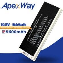 """10.8V 55Wh Zilveren Laptop Batterij A1185 MA561 MA561 MA566 Voor Apple Macbook 13 """"A1181 (2006 2009 Jaar) MA699 MA472B/Een MB404X/Een"""