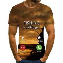 Camiseta de hombre 3D con estampado de cómics, camiseta de verano de 2021