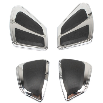Motorcycle Fuel Tank + Pommel Box Protective Cover Decorative Cover Case for Honda Goldwing Gl1800 2012-2017