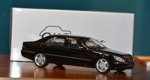 OTTO MOBILE MODELS BENZ S55 AMG (W220) S CLASS RESIN MODEL 1/18 New