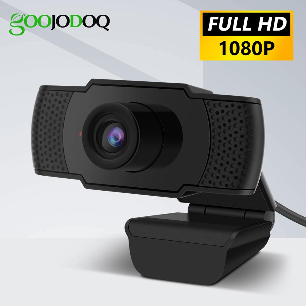 1080P Webcam HD Web Camera With Built-in HD Microphone 1920 X 1080 USB Web Cam Widescreen Video