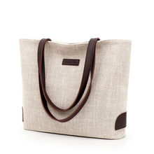 New European and American fashion Tote women's bag Korean version of simple handbag one-shoulder leisure large capacity bag