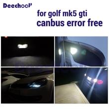 Шина CAN автомобиль светодиод задний свет+ подсветка номерного знака+ стояночного света+ под зеркало с подсветкой led лампы для VW Golf 5 MK5 MK V GTI Rabbit 06-09
