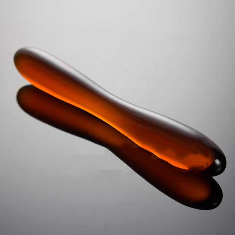 18cm Pyrex Glass Anal Toy Dildo Double Ended dong Crystal Fake Penis Butt Plug G Spot Stimulators Sex Toys For Women men gay|Anal Sex Toys|   - AliExpress