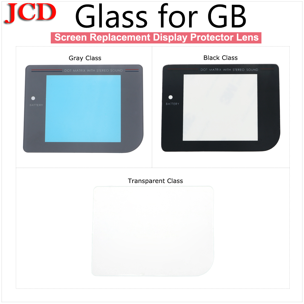 JCD 30 PCS New Glass Protective Screen Lens For Gameboy Classic DMG-01 Lens Protector For Nintendo DMG Lens For GB Cover