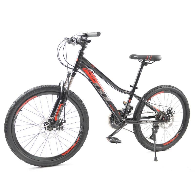 Горный велосипед 27 Скорость 24-дюймовый стальной каркас подросткового велосипеда Доступно для студентов, ездящих на велосипеде MTB Bike City Bike Б...