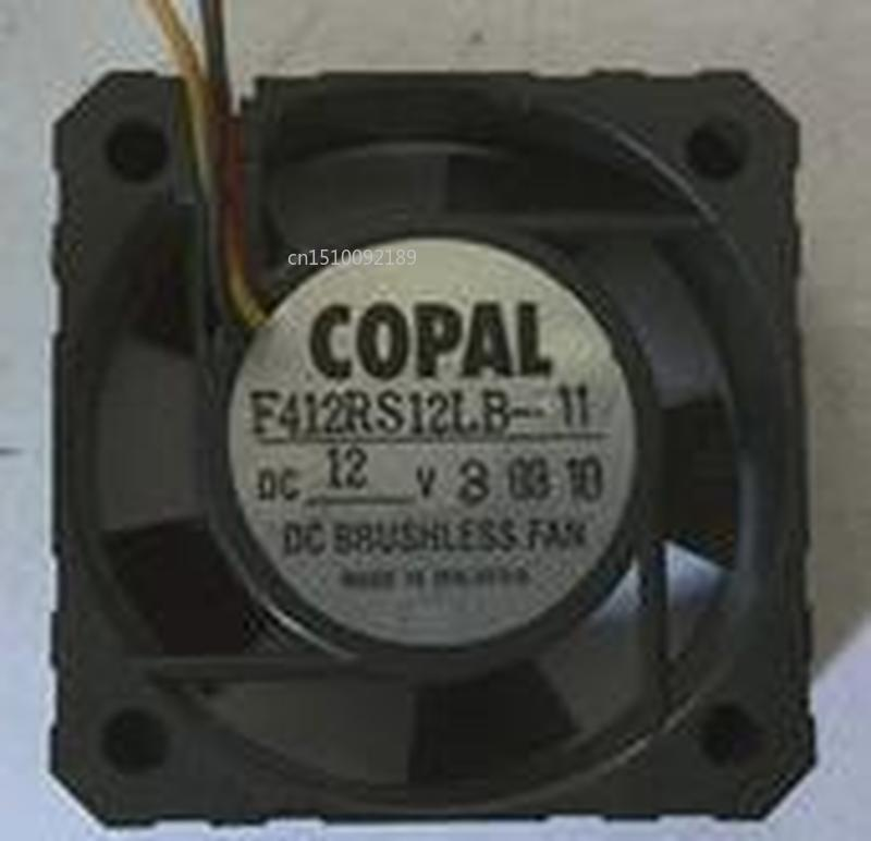 For COPAL F412RS12LB Server Cooler Cooling Fan DC 12V 40x40x15mm 3-wire Free Shipping
